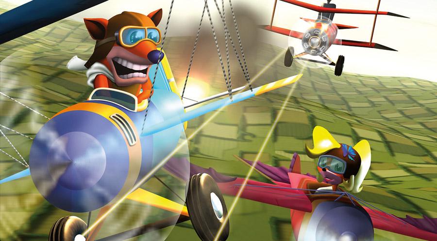 gameplay-Crash Bandicoot