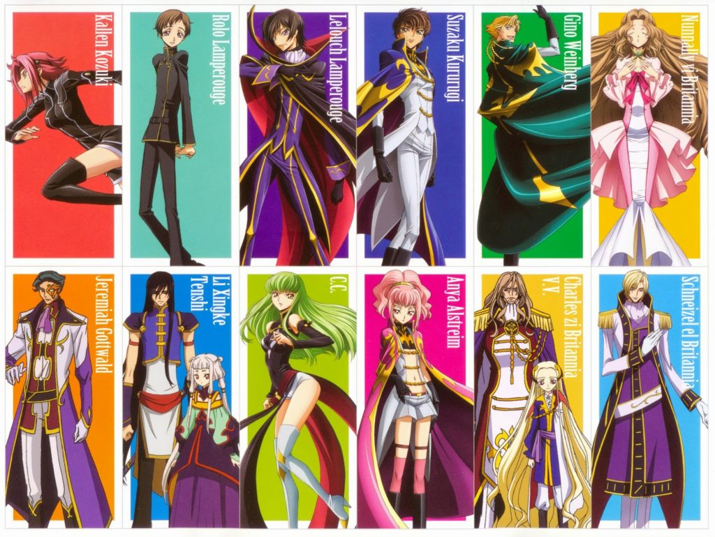 personnages-Code Geass