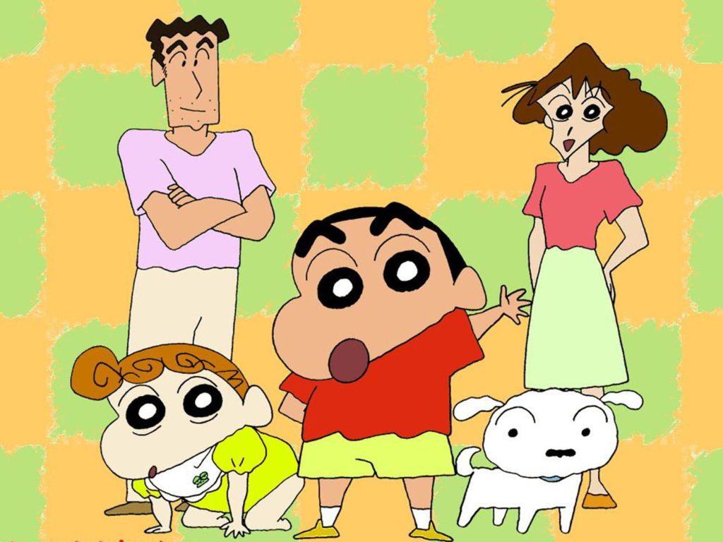 Famille-Shin-chan