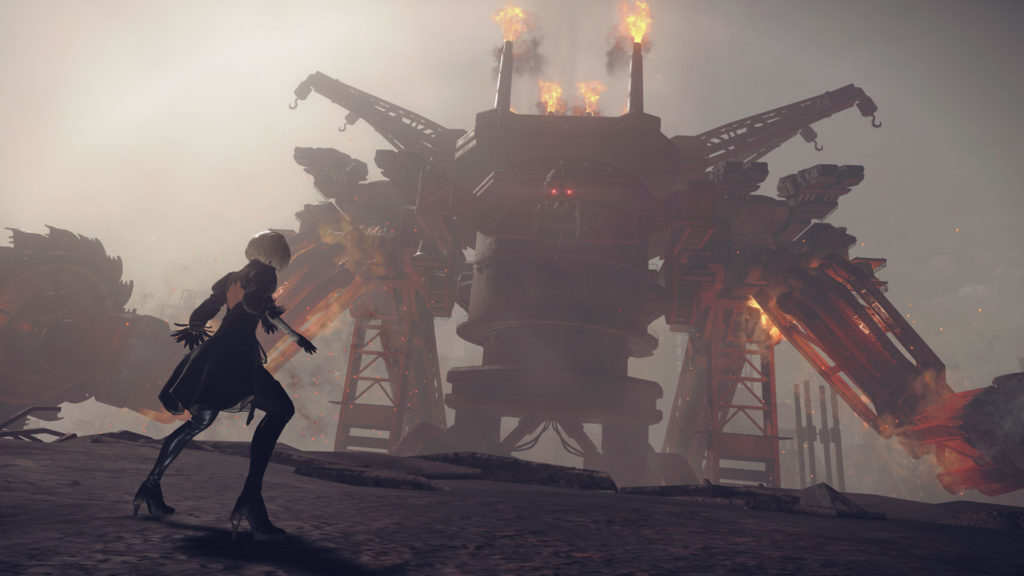 NieR Automata-combat