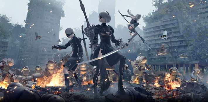 NieR Automata-personnages