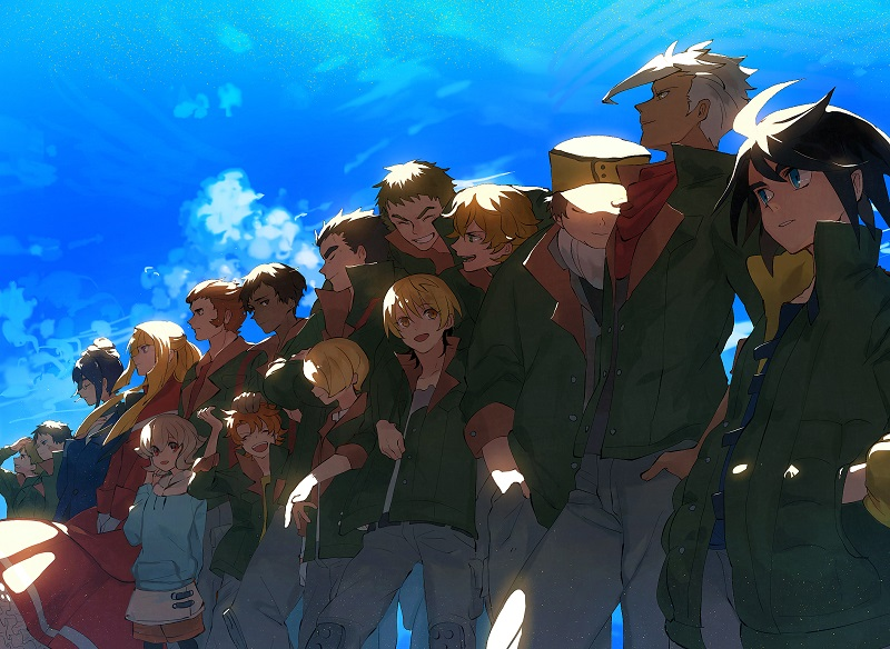 Tekketsu no Orphans-équipage