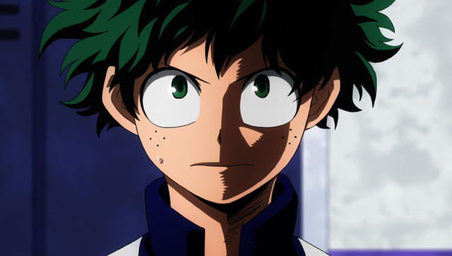 My Hero Academia-Izuku