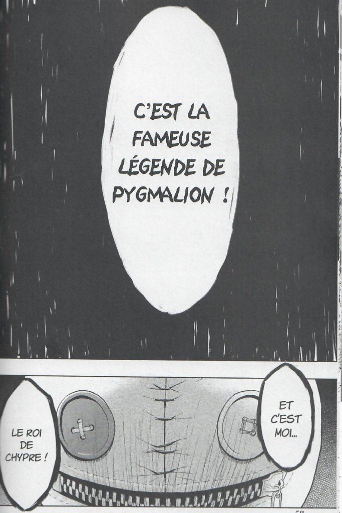 Légende Pygmalion