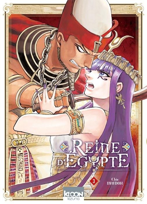 Reine d'Egypte 3-sélection manga