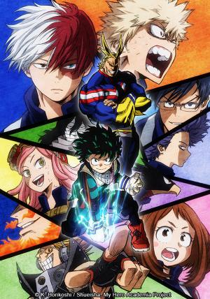 my hero academia-sélection anime