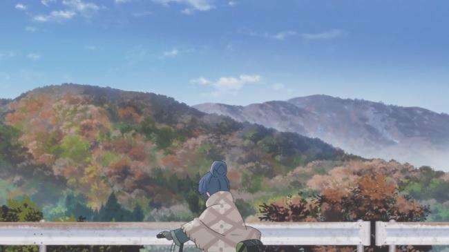 Yuru Camp-paysage