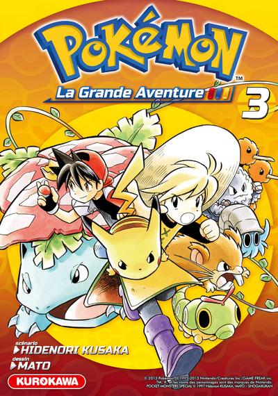 Pokémon la grande Aventure 3-carnet de voyage