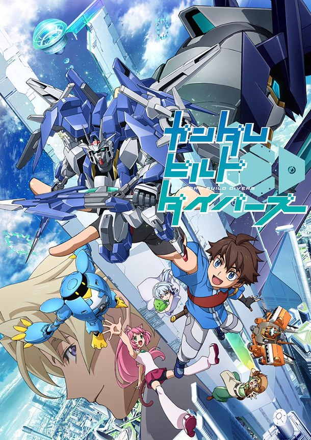Gundam Build Divers-bilan anime printemps 2018