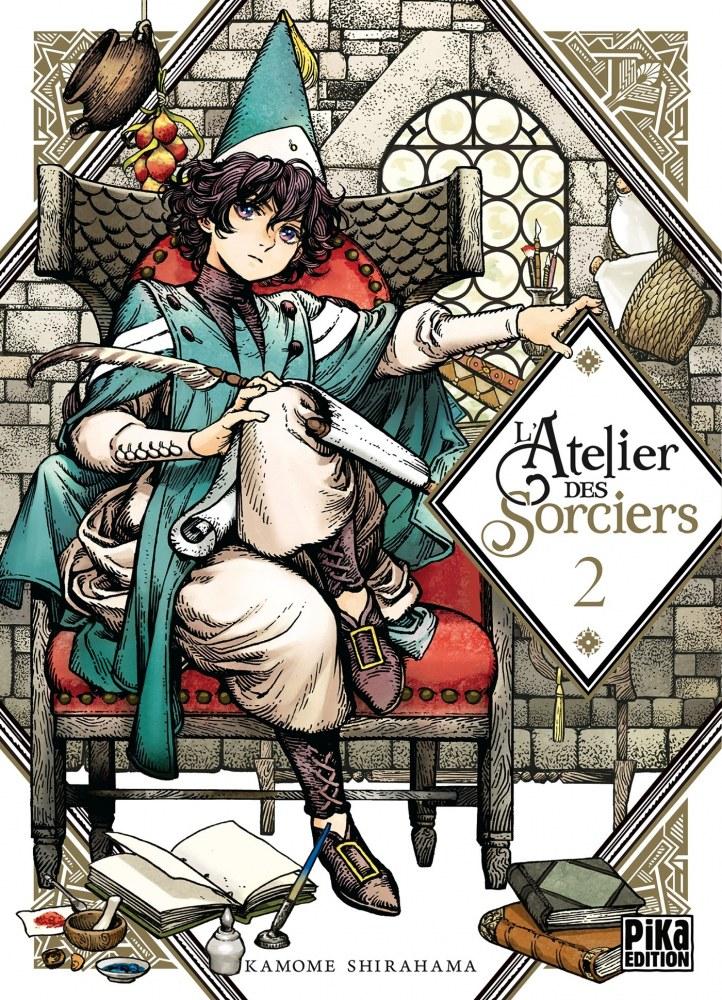 L'Atelier des Sorciers 2-carnet otaku