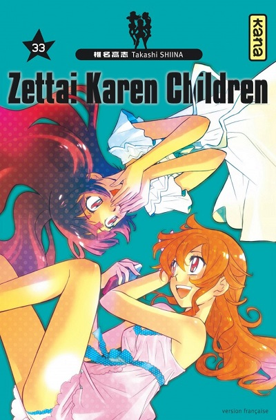 Zettai Karen Children T33 (24/08/18)