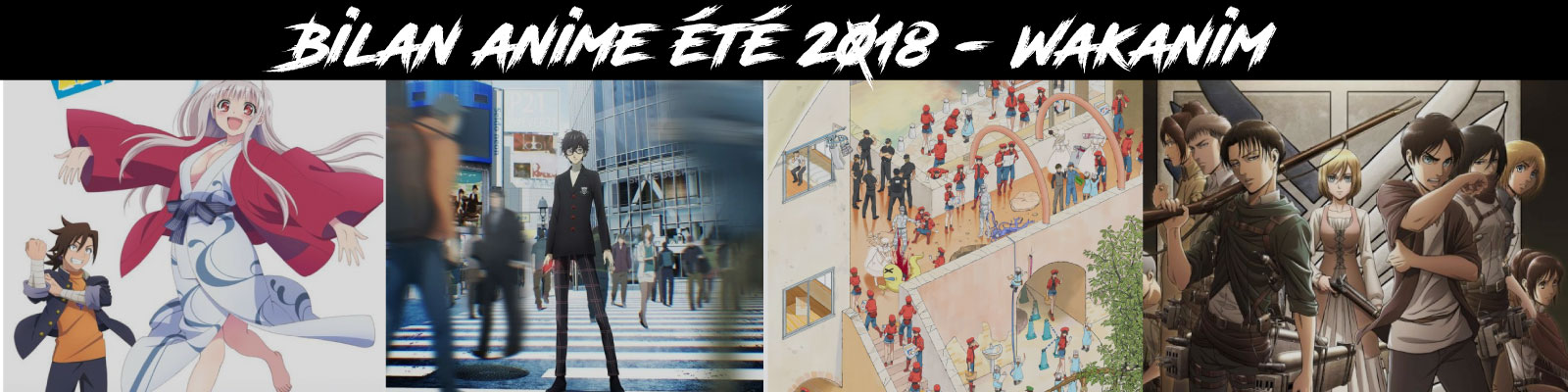 Bilan anime été 2018 - Wakanim