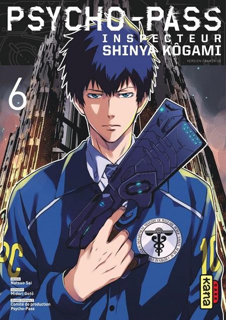 Psycho-Pass Inspecteur Shinya Kogami T6 FIN (21/09/18)