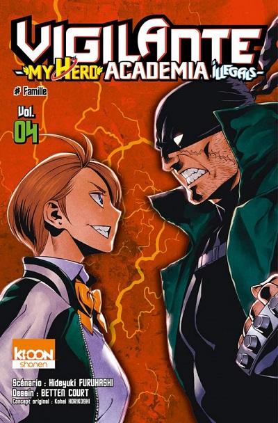 Vigilante - My Hero Academia Illegals T4 (04/10/18)