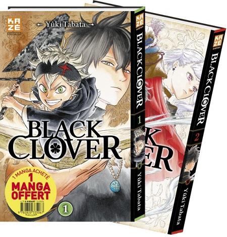 Black Clover Pack Découverte T1 & 2 (24/10/18)