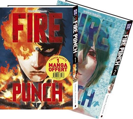 Fire Punch Pack Découverte T1 & 2 (24/10/18)
