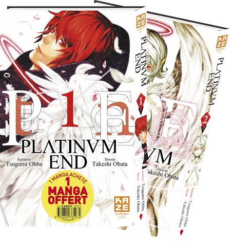 Platinum End Pack Découverte T1 & 2 (24/10/18)
