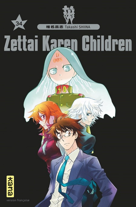 Zettai Karen Children T34 (19/10/18)
