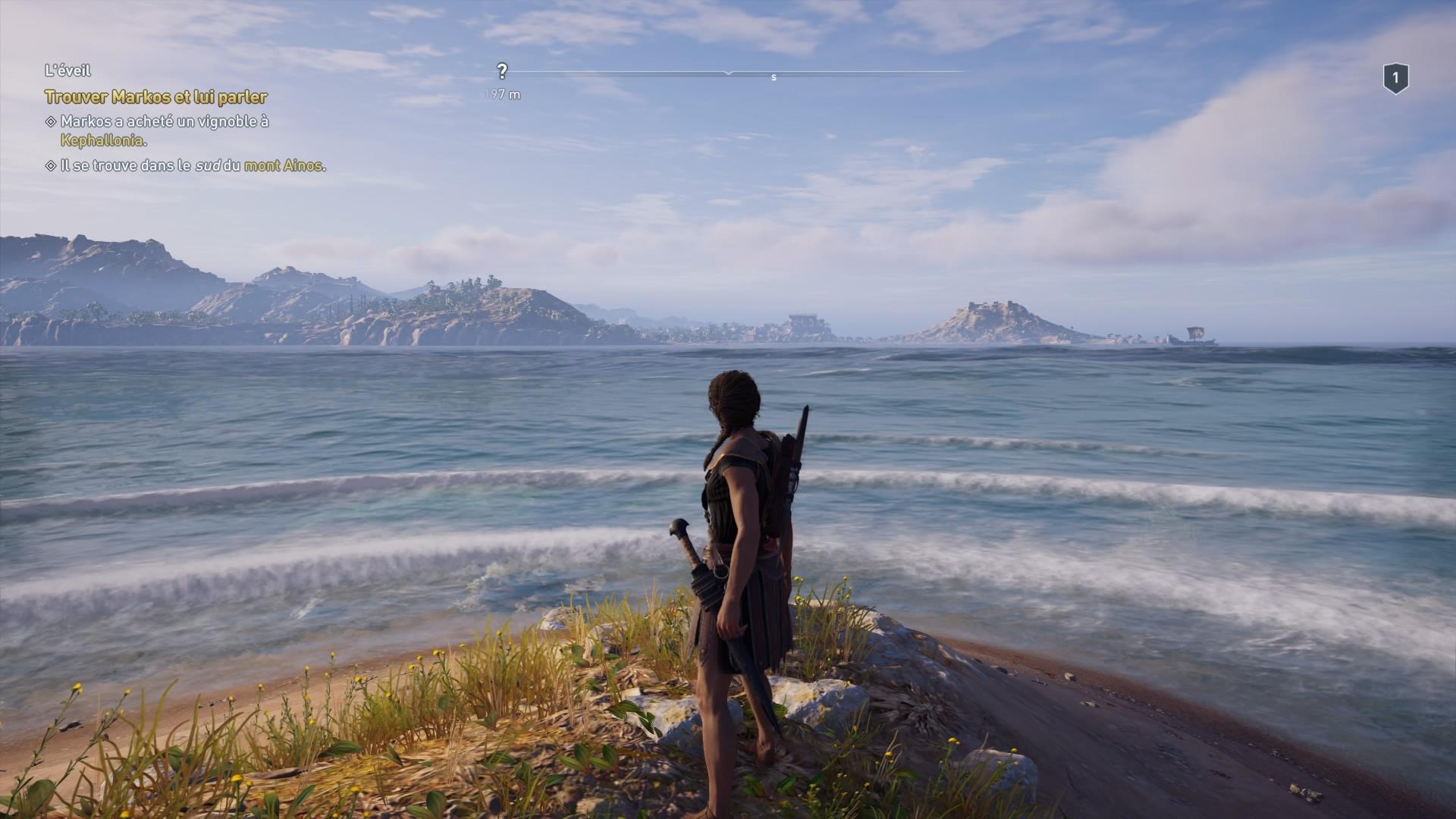 En dehors de cette île