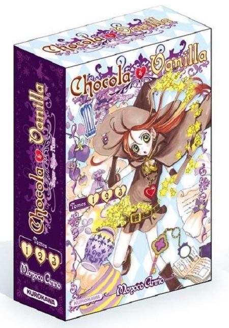 Chocola et Vanilla Coffret 1 à 3 (15/11/18)