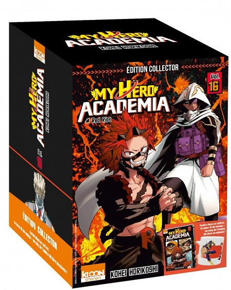 My Hero Academia T16 Collector (08/11/18)