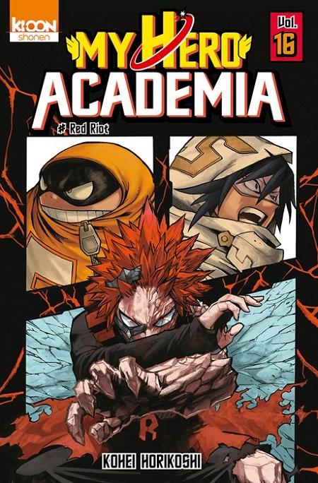 My Hero Academia T16 (08/11/18)
