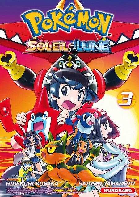 Pokémon - Soleil & Lune T3 (15/11/18)