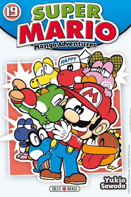 Super Mario - Manga Adventures T19 (14/11/18)
