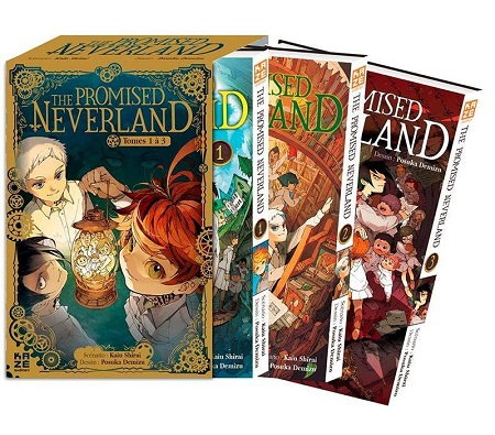The Promised Neverland Pack découverte T1 à 3 (28/11/18)