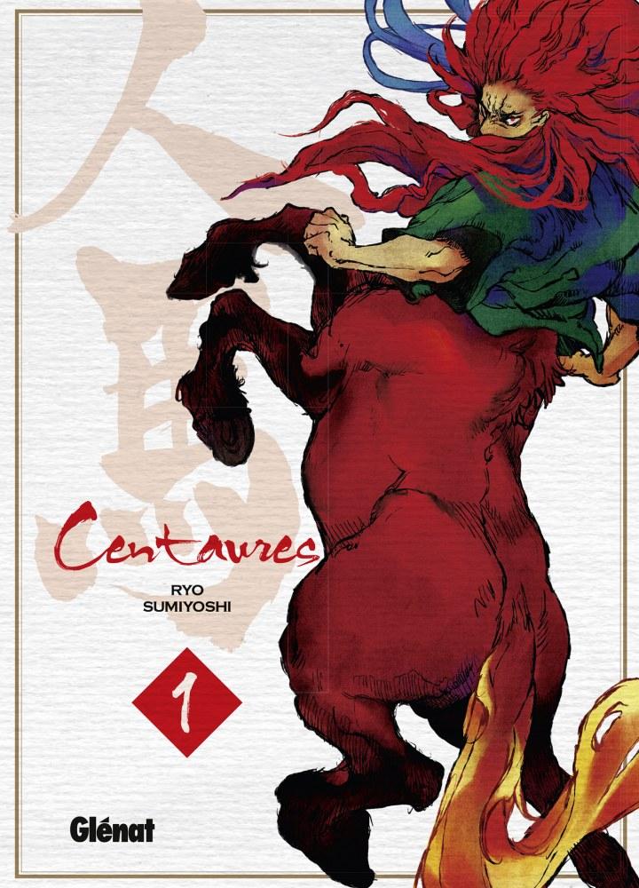Centaures-manga