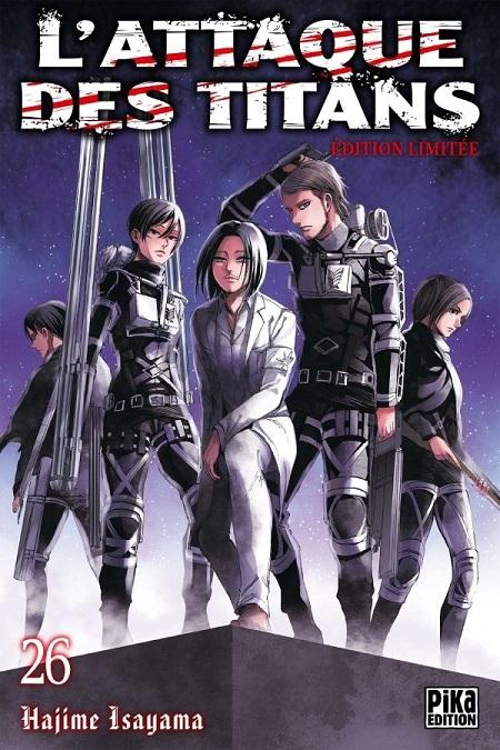 L'Attaque des Titans T26 Edition limitée (12/12/18)