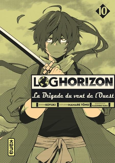 Log Horizon - La Brigade du vent de l'Ouest T10 (04/01/19)