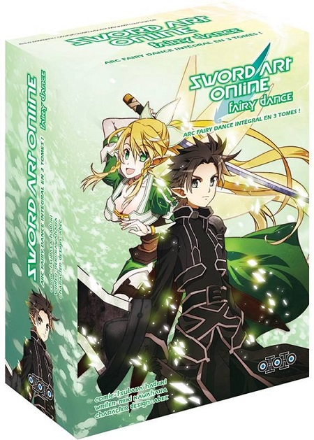 Sword Art Online - Fairy Dance coffret intégral (07/12/18)