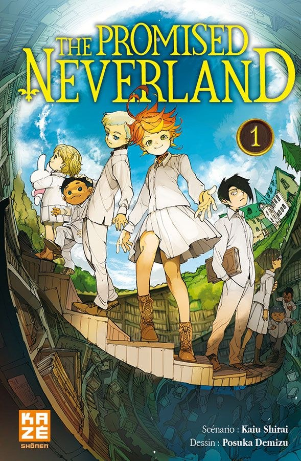 The Promised Neverland-manga