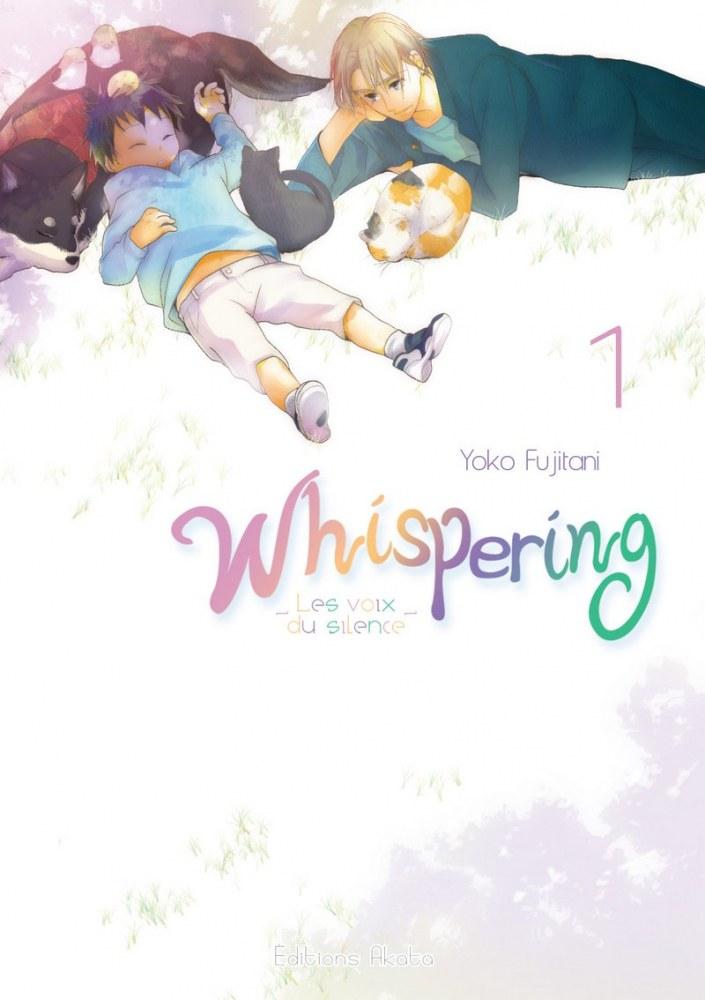Whispering-manga