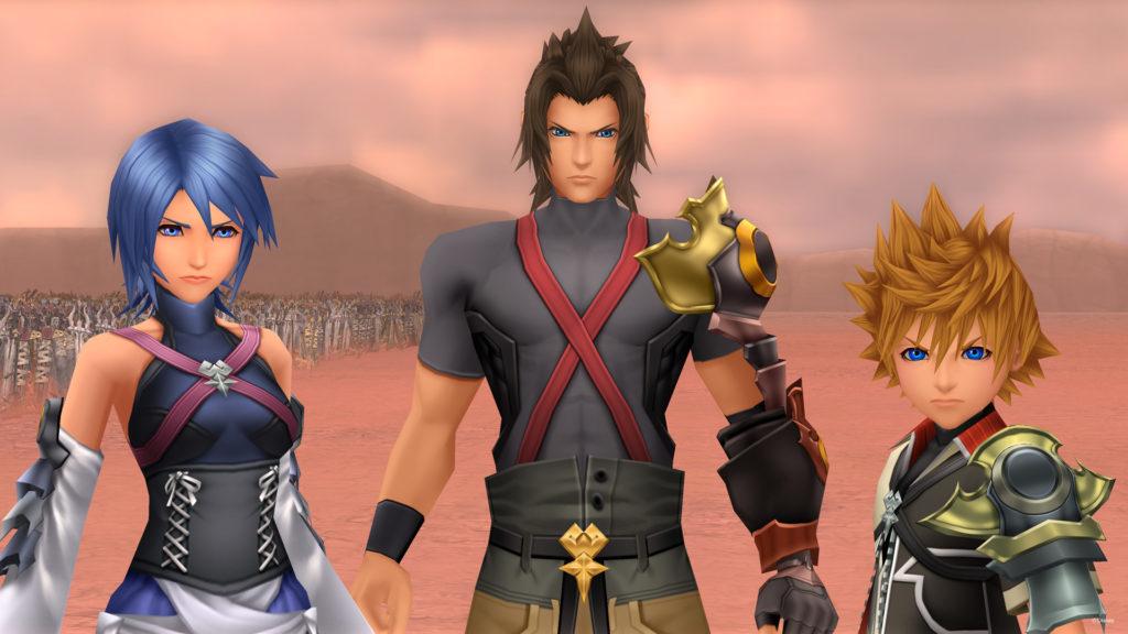 Kingdom Hearts Birth By Sleep-trio