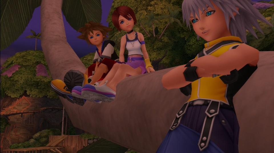 Kingdom Hearts-Sora Riku Kairi