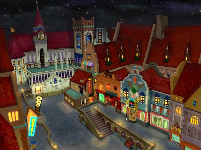 Kingdom Hearts-ville de traverse