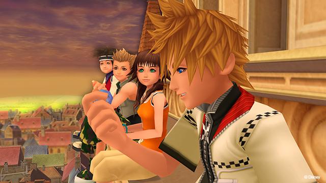 Kingdom Hearts II-Roxas