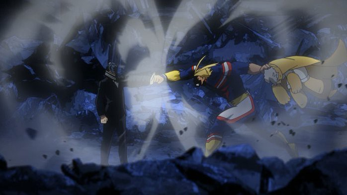 All Might-combat