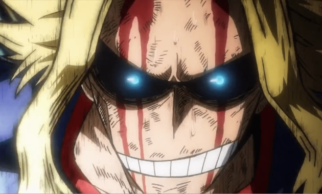 All Might-conviction
