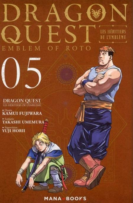 Dragon Quest - Les Héritiers de l'Emblème T5 (07/02/19)