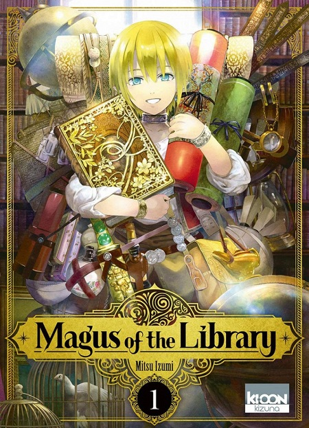 Magus of the Library T1