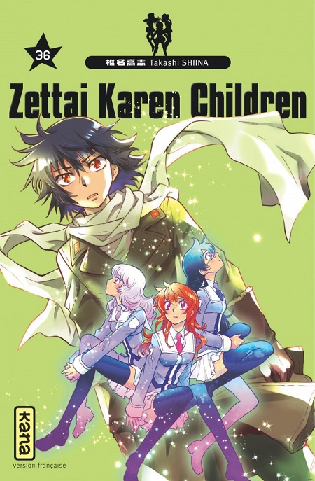Zettai Karen Children T36 (15/02/19)