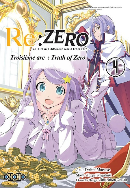 Re:Zero T4 3ème arc (22/03/19)