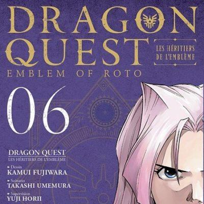Dragon Quest - Les Héritiers de l'Emblème T6 (18/04/19)