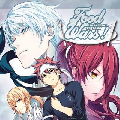 Food Wars ! T29 (24/04/19)