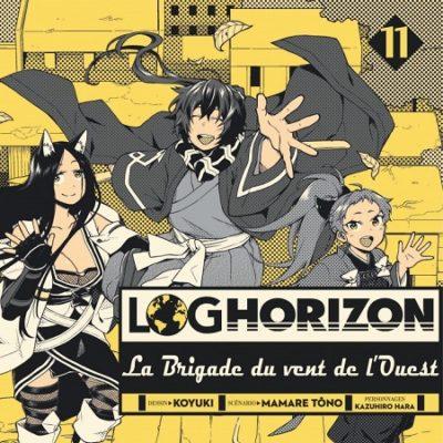 Log Horizon - La Brigade du vent de l'Ouest T11 FIN (19/04/19)