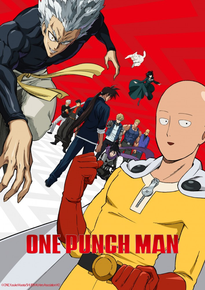 One Punch-Man 2nd season-simulcasts