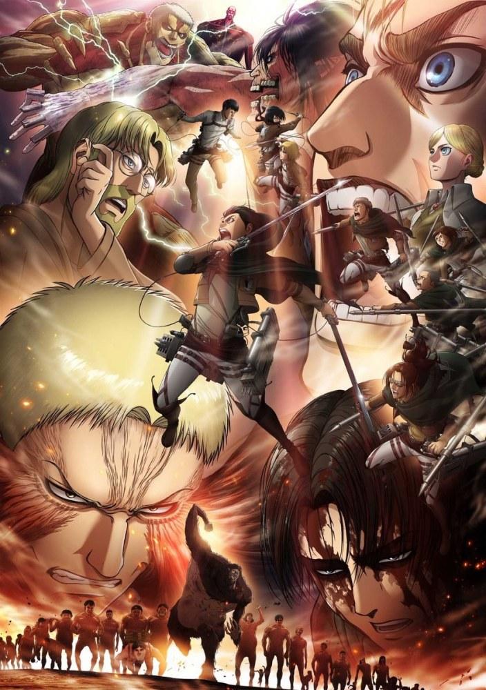 Shingeki no Kyojin 3rd Season Part 2-simulcasts